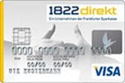 1822direkt Haushaltskonto VisaCard