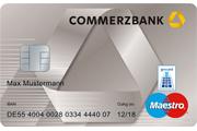 Commerzbank Haushaltskonto Maestro Girocard