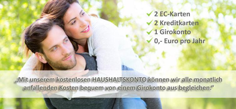Haushaltskonto- gemeinsames Girokonto