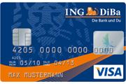 ING DiBa Haushaltskonto Visa Card