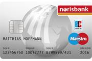 norisbank Haushaltskonto Maestro Girocard