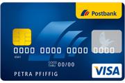 Postbank Haushaltskonto VisaCard