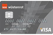 Wüstenrot Haushaltskonto Visa Card