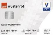 Wüstenrot Haushaltskonto VPay Girocard